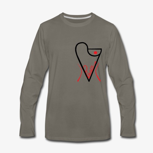 plus... - Men's Premium Long Sleeve T-Shirt