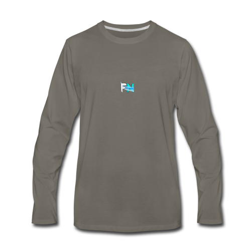 Futuristic Networks - Men's Premium Long Sleeve T-Shirt