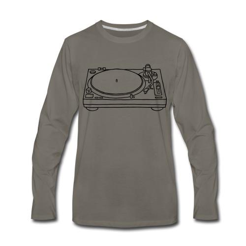 record player - Men's Premium Long Sleeve T-Shirt