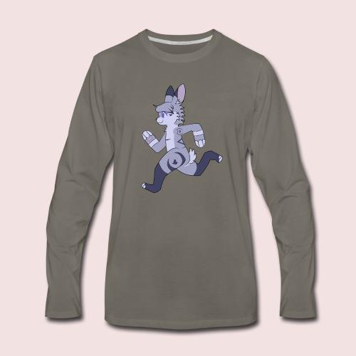Breezy Bunny - Men's Premium Long Sleeve T-Shirt