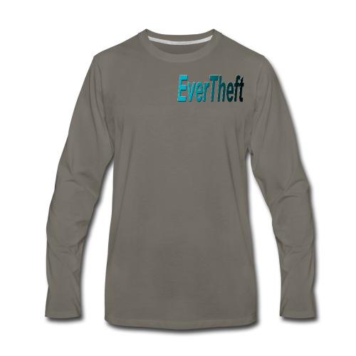 Clear Logo - Men's Premium Long Sleeve T-Shirt