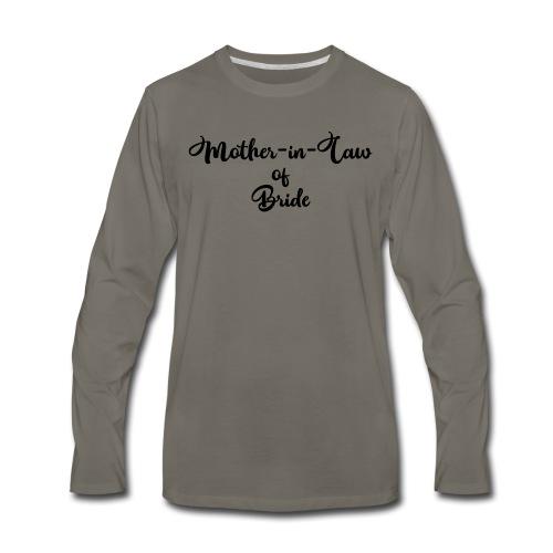 motherinlawofbride - Men's Premium Long Sleeve T-Shirt