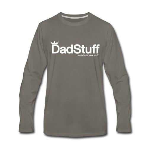 DadStuff Full View - Men's Premium Long Sleeve T-Shirt