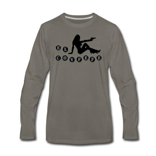 El Covfefe Bad Ass Girl - Men's Premium Long Sleeve T-Shirt
