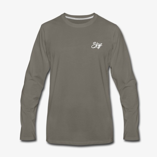 Skyz Signature - Men's Premium Long Sleeve T-Shirt
