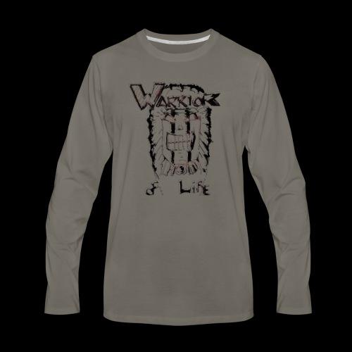 Warrior of Life - Men's Premium Long Sleeve T-Shirt