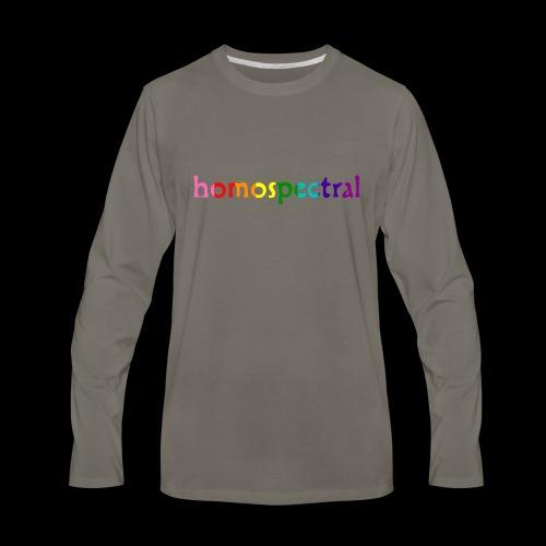 homospectral - Men's Premium Long Sleeve T-Shirt