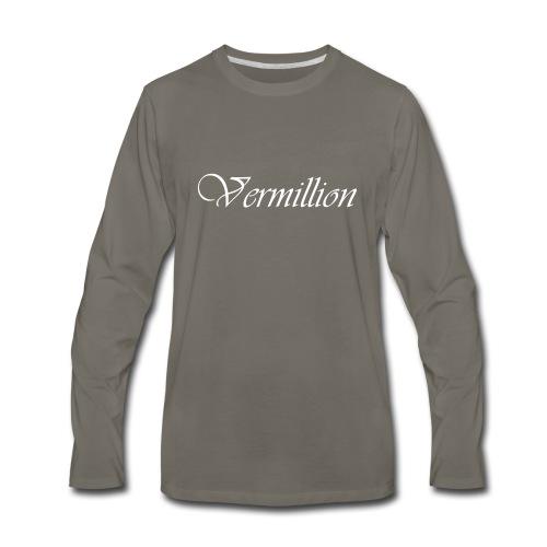 Vermillion T - Men's Premium Long Sleeve T-Shirt