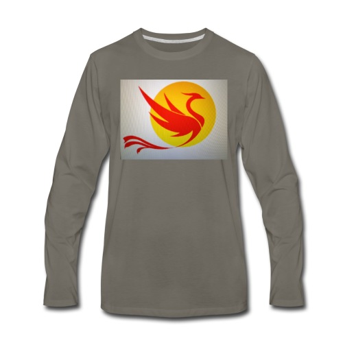 Asian Phoenix - Men's Premium Long Sleeve T-Shirt