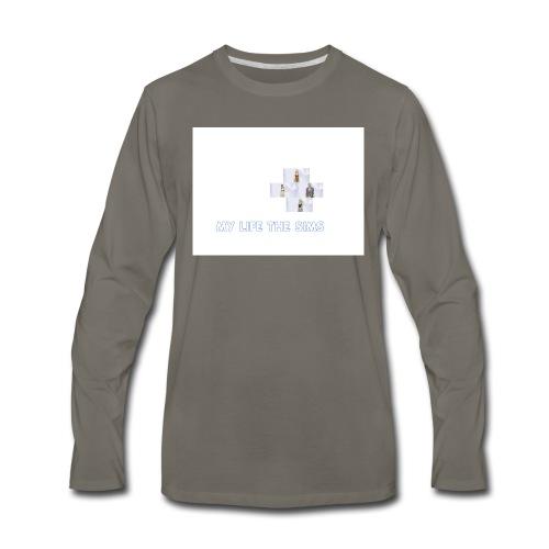 my life the sims - Men's Premium Long Sleeve T-Shirt