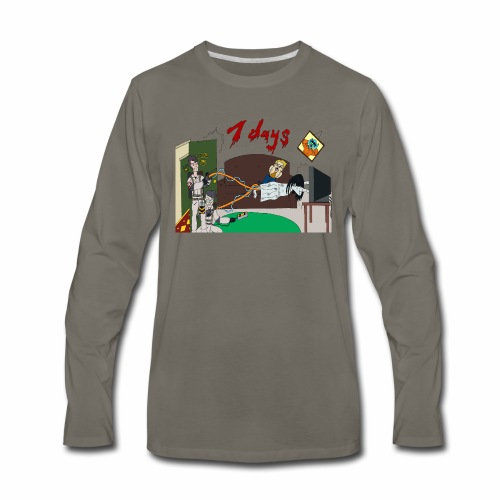 7 Day Bust - Men's Premium Long Sleeve T-Shirt