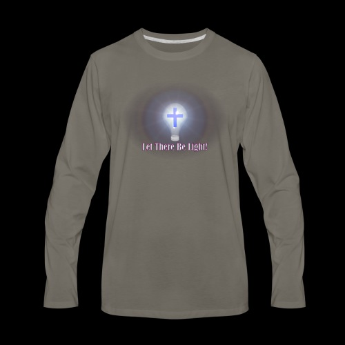 Let There Be Light 2 - Men's Premium Long Sleeve T-Shirt