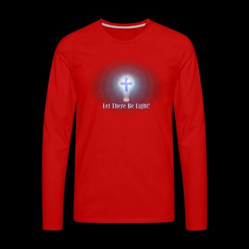 Let There Be Light 2 - Men's Premium Long Sleeve T-Shirt
