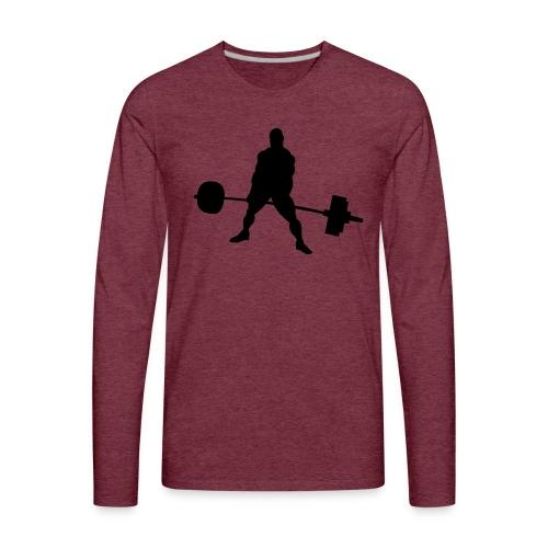 Powerlifting - Men's Premium Long Sleeve T-Shirt