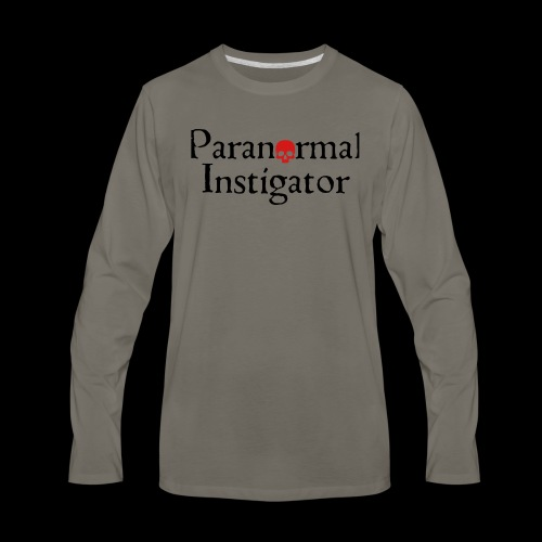 Paranormal Instigator - Men's Premium Long Sleeve T-Shirt