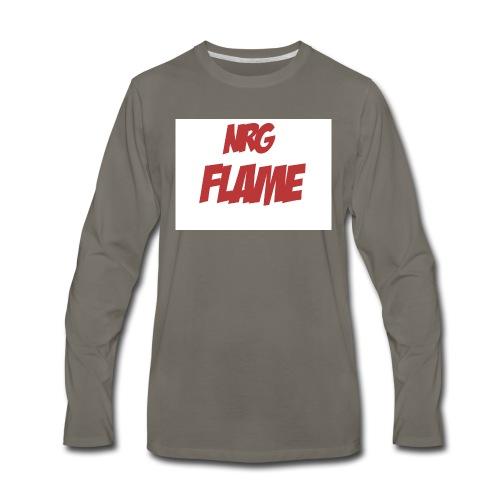 FLAME - Men's Premium Long Sleeve T-Shirt