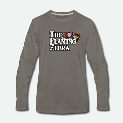 TFZ Big LOGO - Men's Premium Long Sleeve T-Shirt