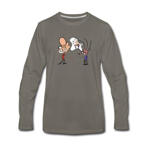 Pop Your Bubble - Men's Premium Long Sleeve T-Shirt
