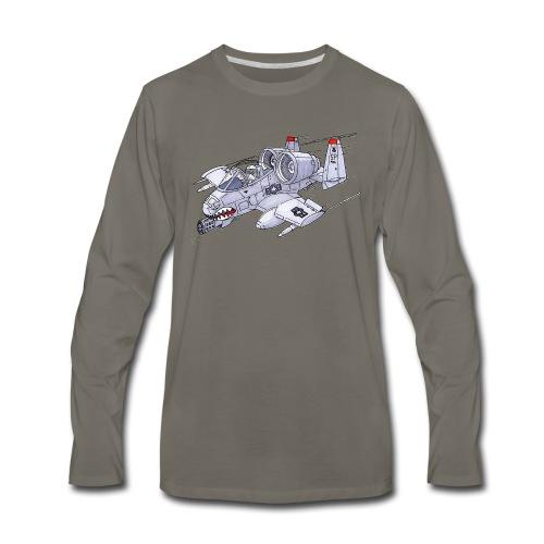 Randy In an A-10 - Men's Premium Long Sleeve T-Shirt