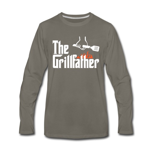 The Grillfather - Men's Premium Long Sleeve T-Shirt