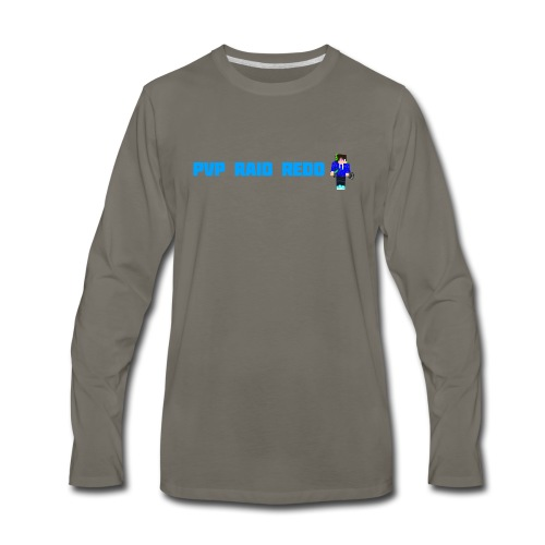 iTzPreston Shirt PvP Raid Redo 2 - Men's Premium Long Sleeve T-Shirt