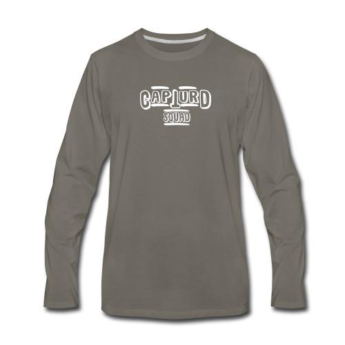 Capturd White - Men's Premium Long Sleeve T-Shirt