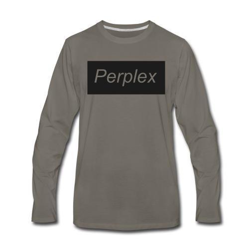 PerplexShirtLogo - Men's Premium Long Sleeve T-Shirt