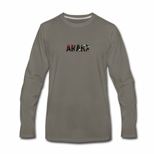 Aranx Logo - Men's Premium Long Sleeve T-Shirt