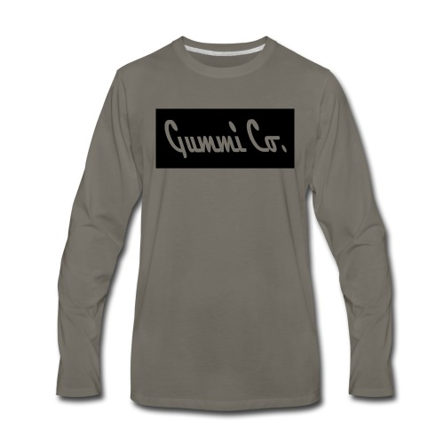 Gummi Co. Logo - Men's Premium Long Sleeve T-Shirt