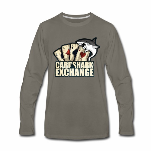 Card Shark 1 - Men's Premium Long Sleeve T-Shirt