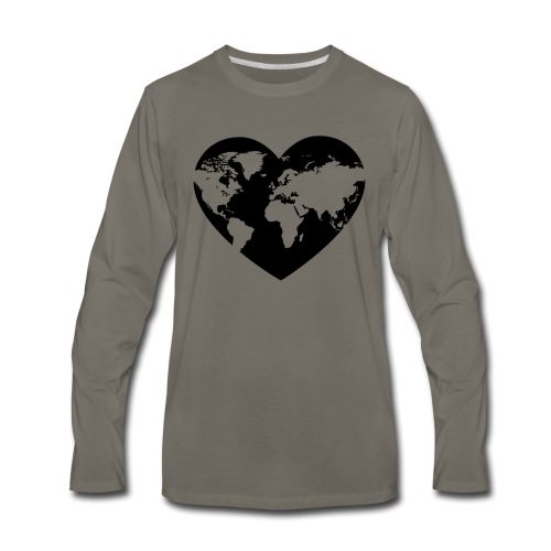 Earth Love - Men's Premium Long Sleeve T-Shirt