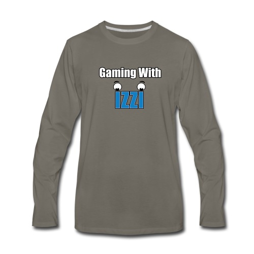 Gaming With Izzi - Men's Premium Long Sleeve T-Shirt