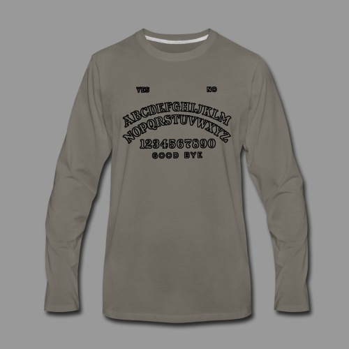 Talking Board - Men's Premium Long Sleeve T-Shirt