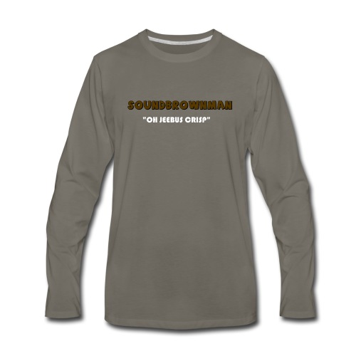a quote - Men's Premium Long Sleeve T-Shirt