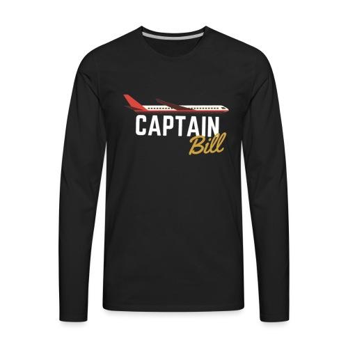 Captain Bill Avaition products - Men's Premium Long Sleeve T-Shirt