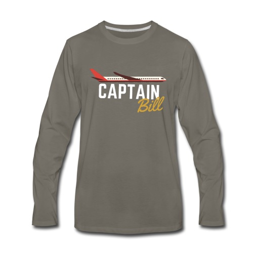 Captain Bill Avaition products - Men's Premium Long Sleeve T-Shirt