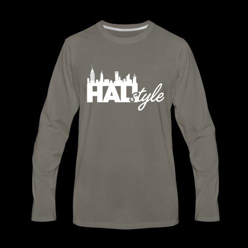 HALIStyle City Skyline - Men's Premium Long Sleeve T-Shirt