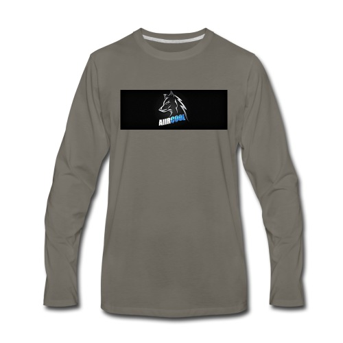 my gaming logo by keepitfresh d73dgm3 - Men's Premium Long Sleeve T-Shirt