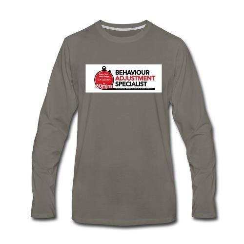 Behaviour Adjustment Specialist - Men's Premium Long Sleeve T-Shirt