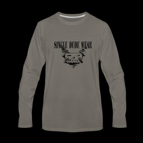 SDW Skull Big - Men's Premium Long Sleeve T-Shirt