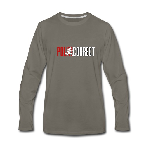 POLITICORRECT - Men's Premium Long Sleeve T-Shirt