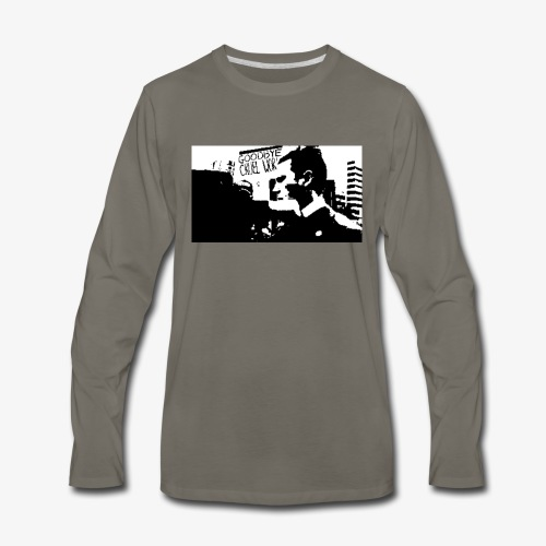 The Punch - Men's Premium Long Sleeve T-Shirt