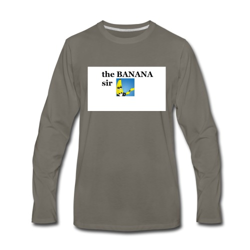 boi - Men's Premium Long Sleeve T-Shirt