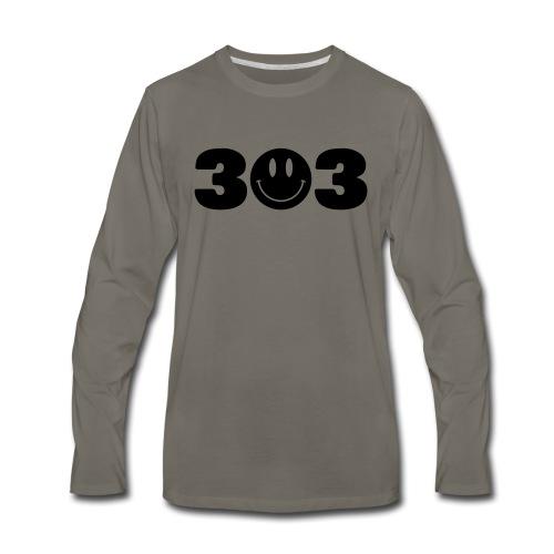3 Smiley 3 - Men's Premium Long Sleeve T-Shirt