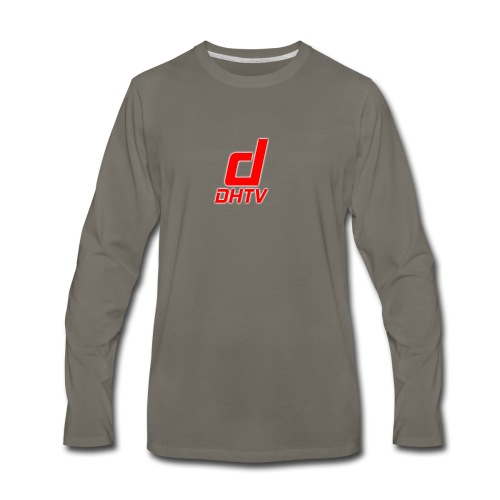 DHTV_Logo_New - Men's Premium Long Sleeve T-Shirt