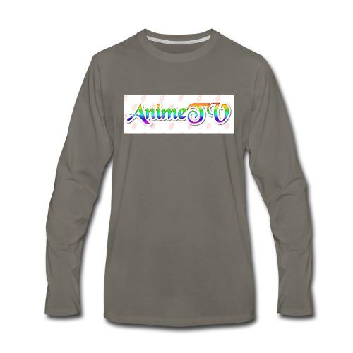 AnimeTV Fan T-Shirt - Men's Premium Long Sleeve T-Shirt