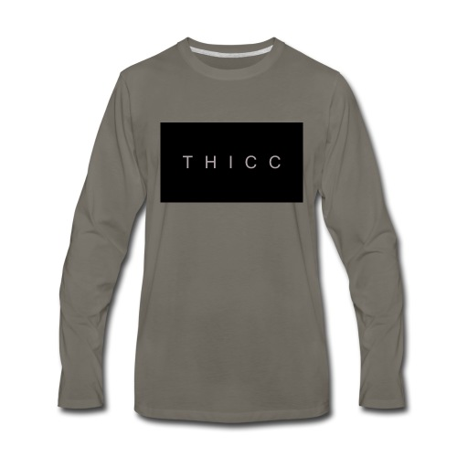 T H I C C T-shirts,hoodies,mugs etc. - Men's Premium Long Sleeve T-Shirt