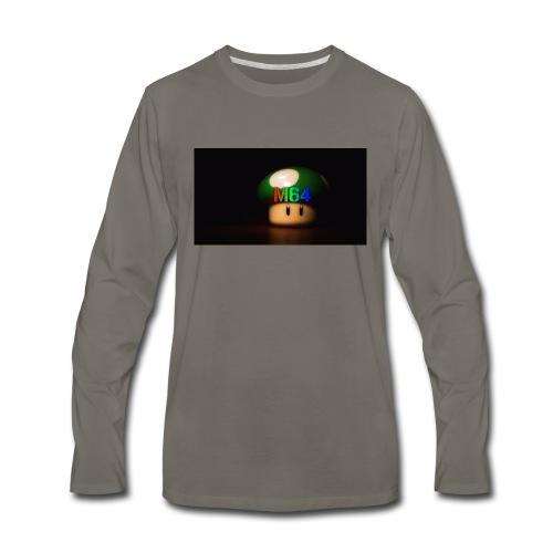 mushroom design - Men's Premium Long Sleeve T-Shirt