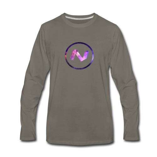 Logo T-Shirt - Men's Premium Long Sleeve T-Shirt