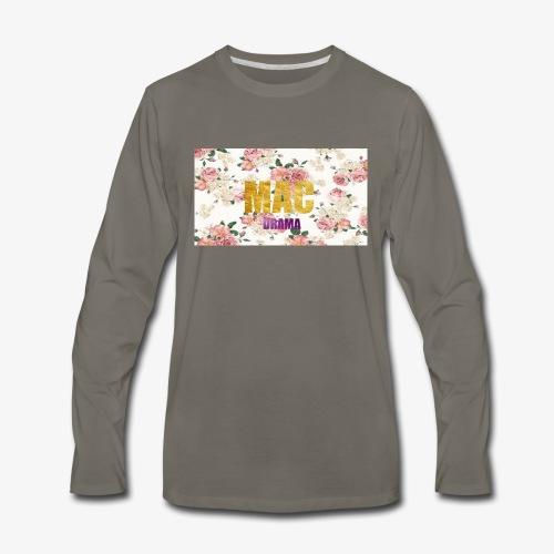 drama - Men's Premium Long Sleeve T-Shirt